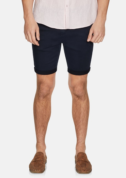Navy Kool Stretch Short