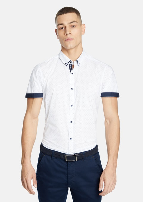 White Royal Slim Shirt