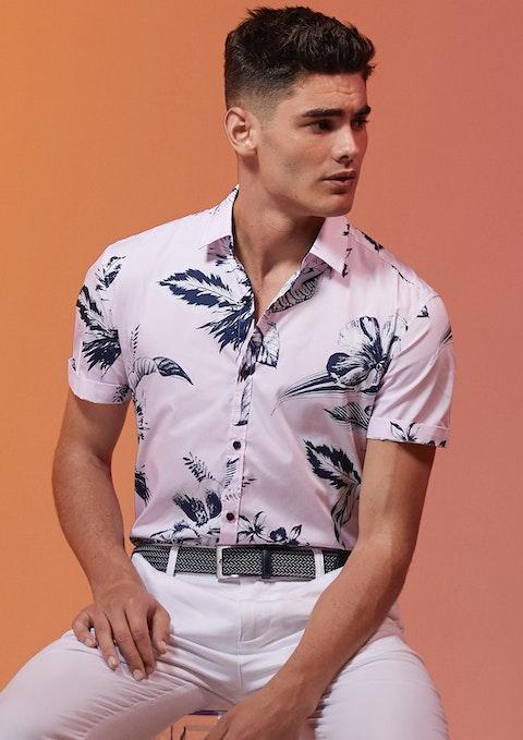 Pink Bird Fun Shirt