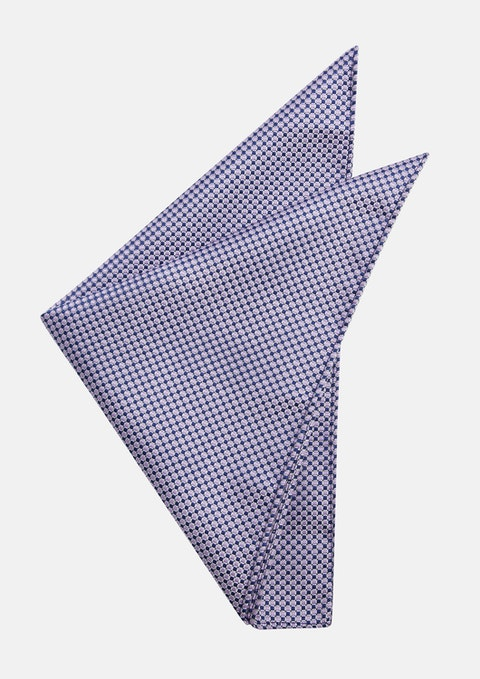 Lavender Murphy Pocket Square