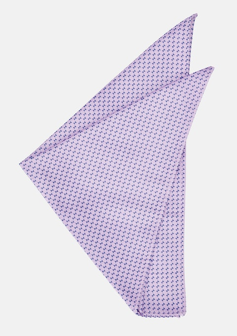 Pink Fredrick Pocket Square