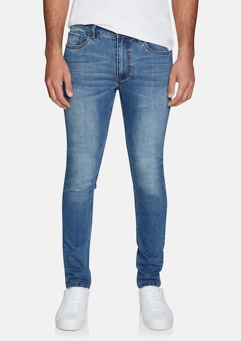 Blue Chester Slim Tapered Jeans