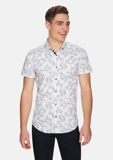 White Down Time Shirt