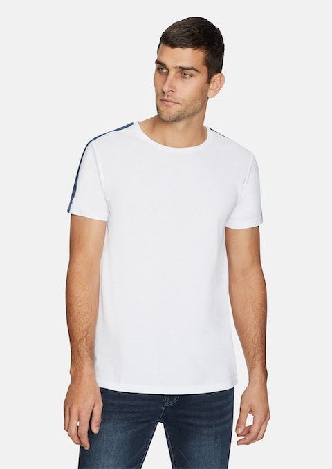 White Livingstone Tee