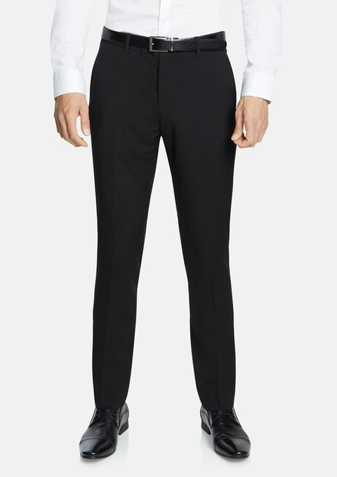 Black Goodfella Skinny Dress Pant