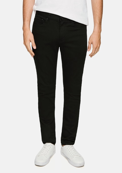 Black Ulrich Slim Tapered Jean