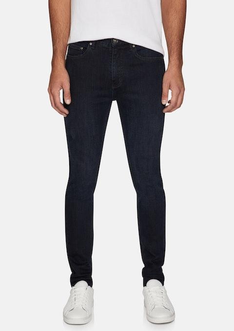 Dark Blue Angus Slim Tapered Jean