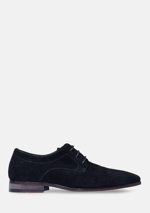 Black Midtown Suede Shoe