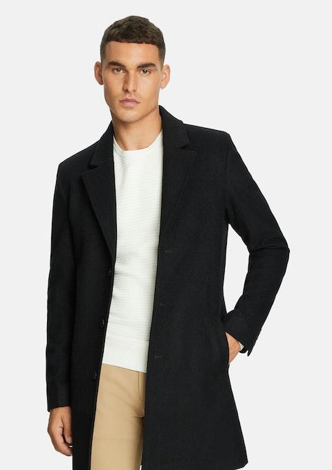 Black Brandon Duster Coat