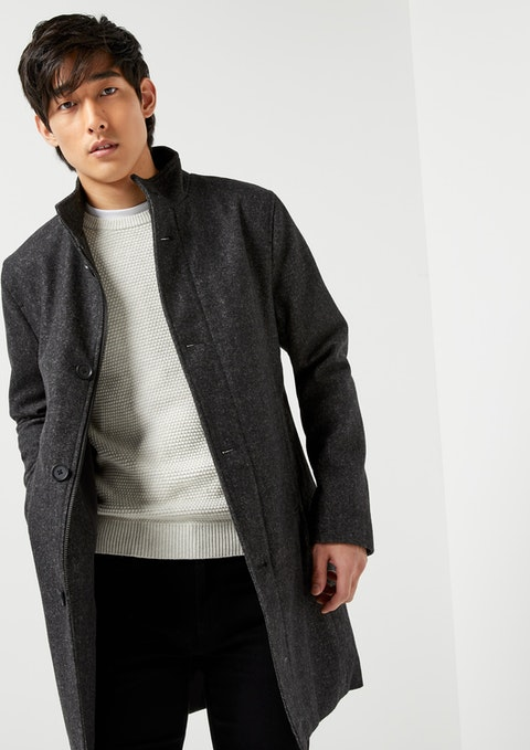 Charcoal Chicago Coat