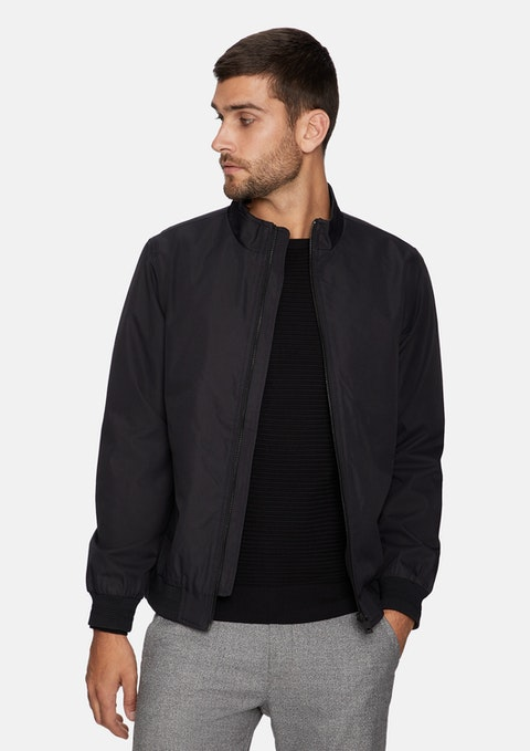 Black Aquinas Jacket