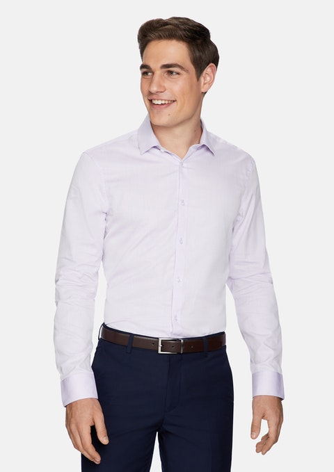 Lilac Doc Slim Dress Shirt