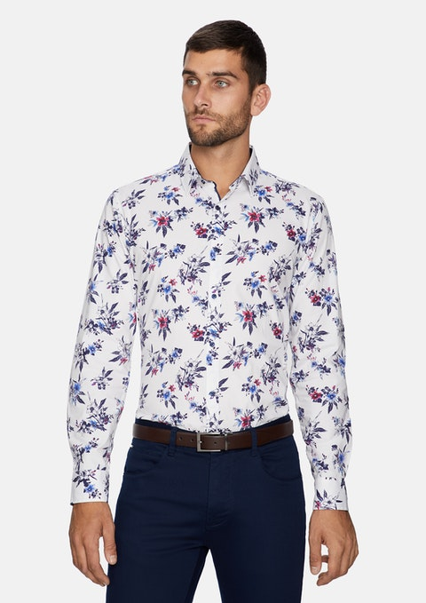 Multi Poco Printed Slim Shirt