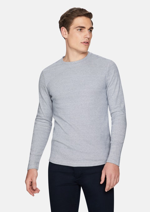 Blue Arnold Muscle Fit Jumper