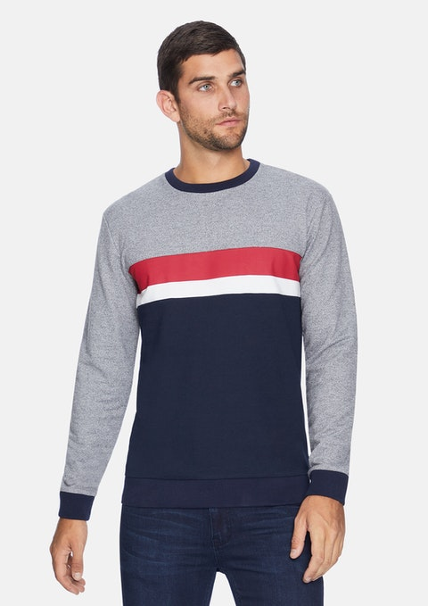 Dark Blue Aaron Jumper