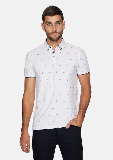 White Horizon Polo