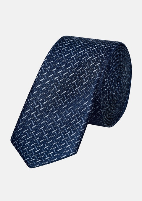 Dark Blue Gregory 5cm Tie