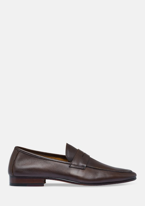 Brown Zenith Loafer