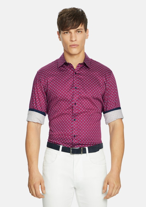 Berry Adonis Slim  Shirt