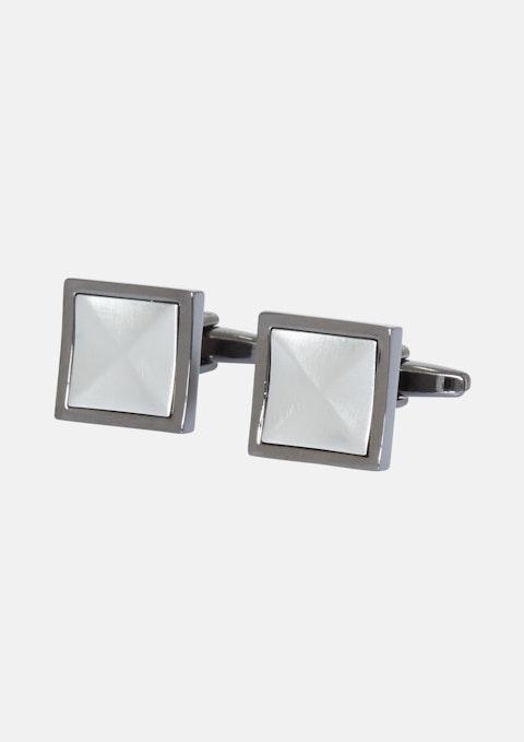 Silver Classic Cufflink