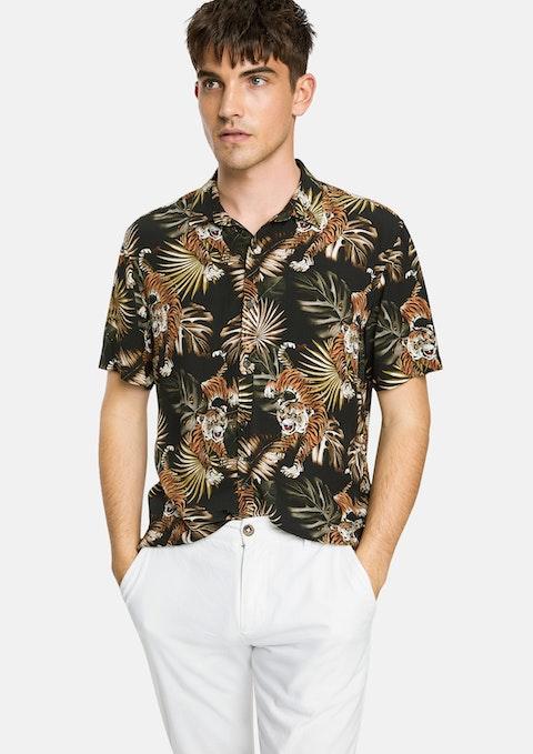 Multi Rage Tiger Shirt