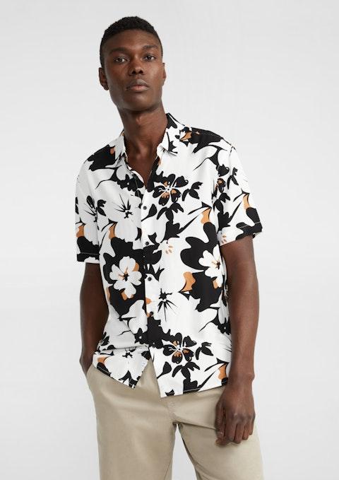 Multi Daxton Viscose Print Shirt