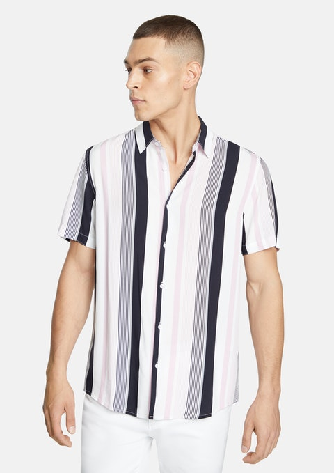 Multi Wrik Stripe Shirt
