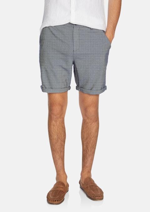 Navy Kolt Textured Short