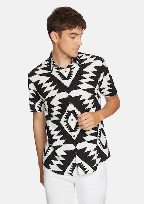 Black Aztec Shirt