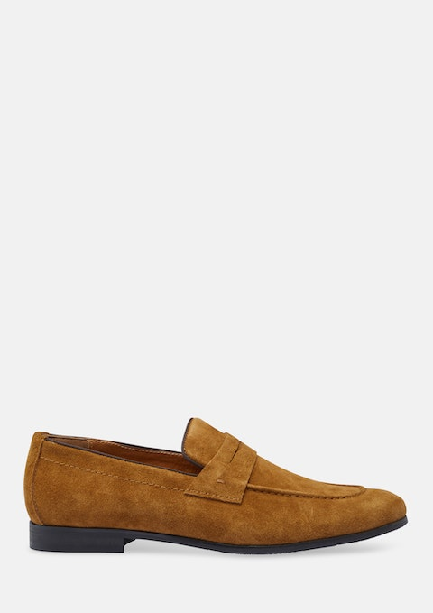 Tobacco Snap Loafers