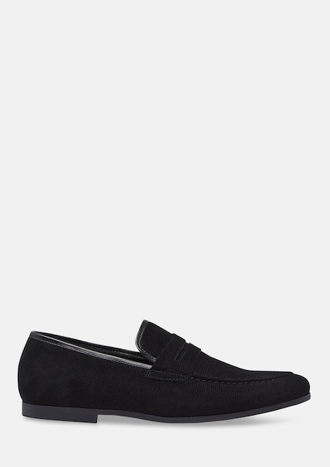 Black Lawrence Loafers