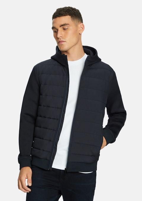 Navy Bandido Hooded Jacket