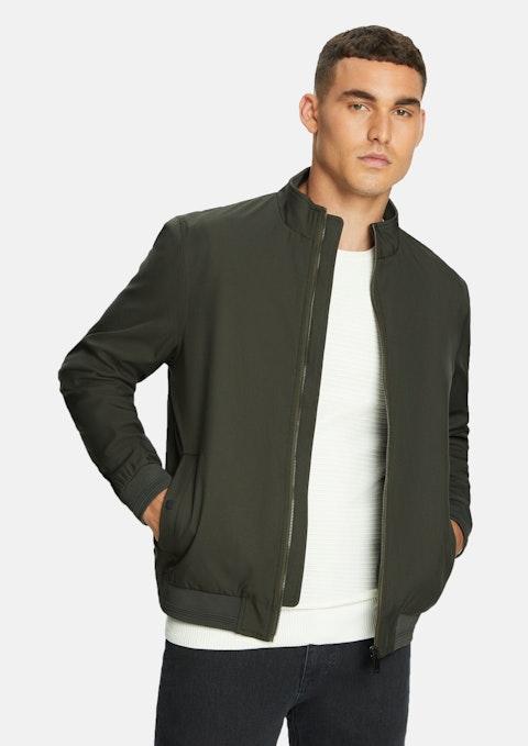 Khaki Glendale Bomber Jacket