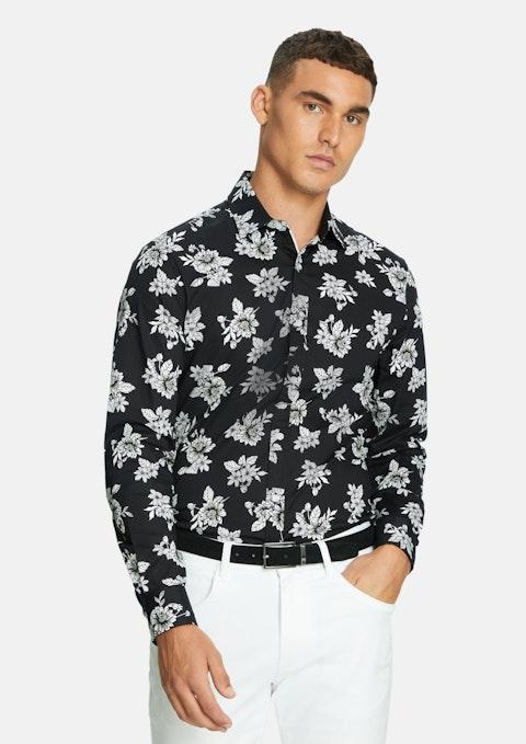 Black Rassina Slim Shirt