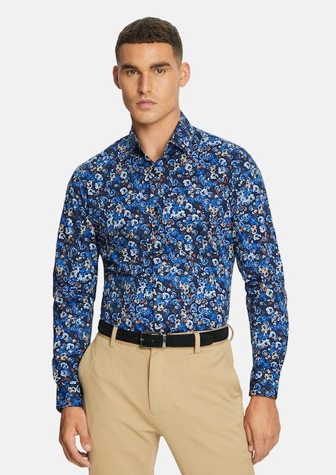 Multi Torii Floral Slim Shirt