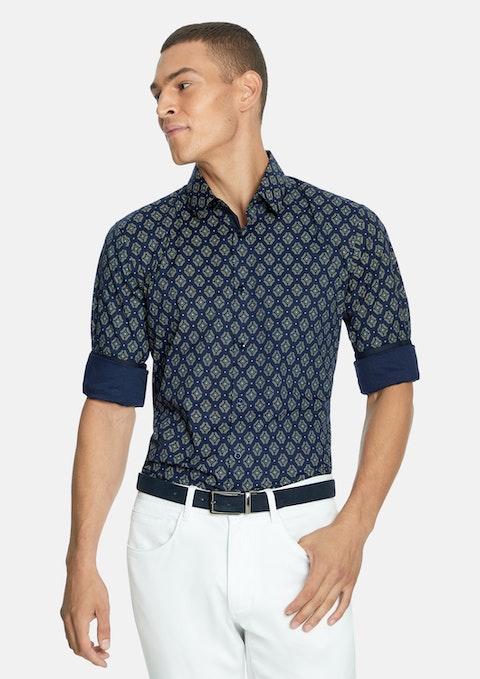 Dark Blue Rodman Slim Shirt