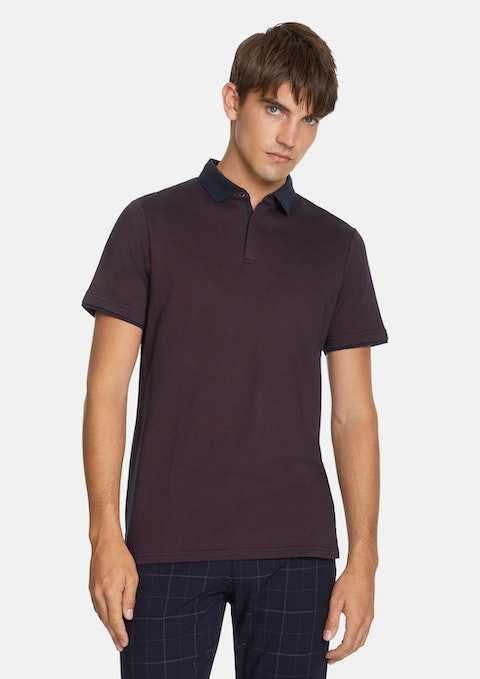 Burgundy Larrison Polo
