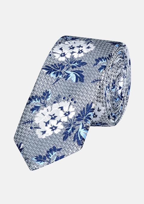 Grey Briggs Floral 5cm Tie