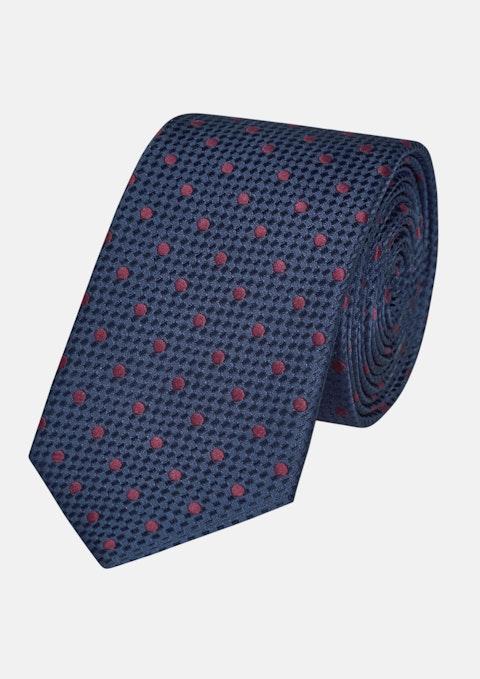 Burgundy Huxley Spot 6.5cm Tie