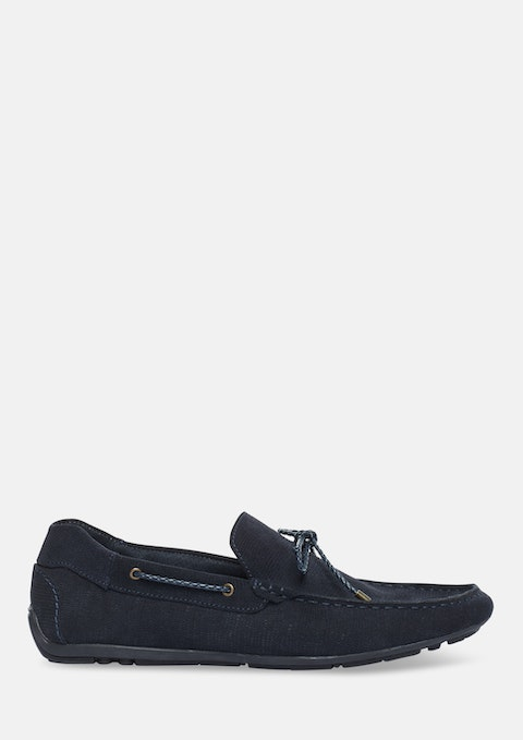 Navy Shelby Driving Shoe