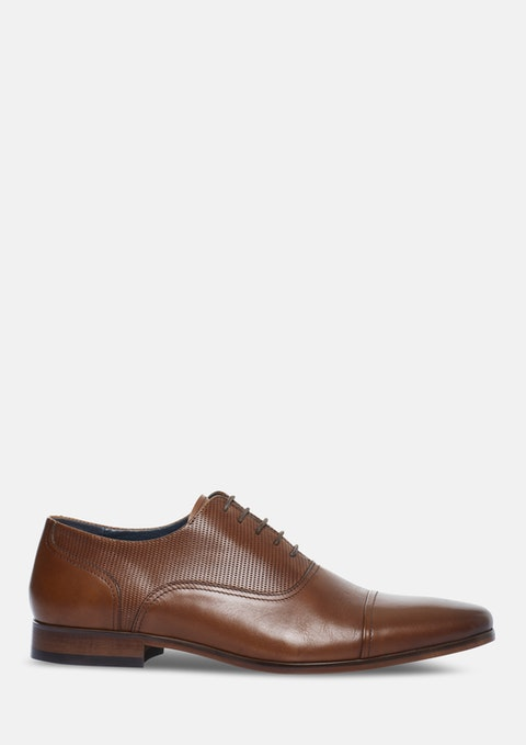Tan Piper Oxford Shoe