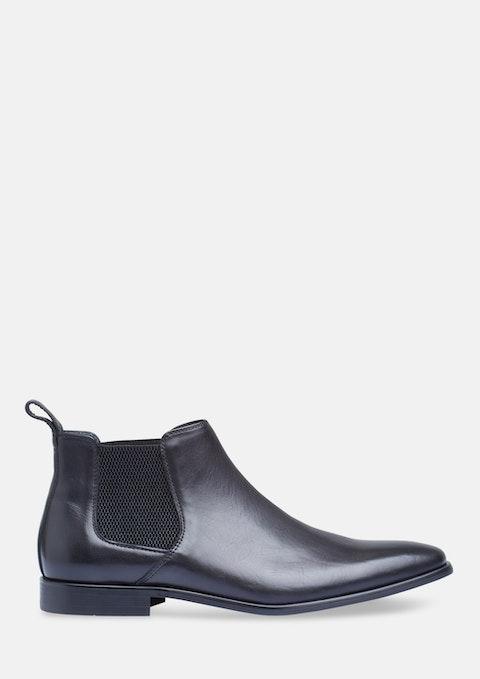 Black New York Chelsea Boot