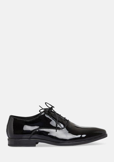 Black Showtime Patent Dress Shoe